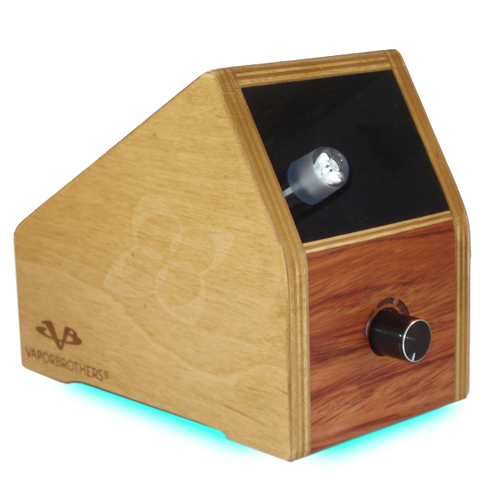 Side view of Vaporbrothers Vaporizer