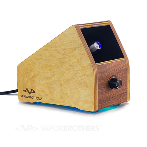 Vaporbrothers OG Style Glass Hold-On Method - VB1 Vaporizer - (OG Standard) - 120V vaporbrothers, standard vaporizer, vapor brothers, box vaporizer, vaporizer, ceramic heating element