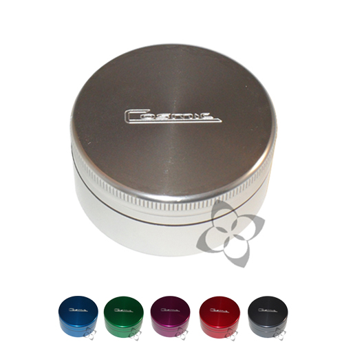 Cosmic Case Grinder - Small Two Piece cosmic, case, space, grinder, shredder, loose, leaf, vaporizer, vape, vapor