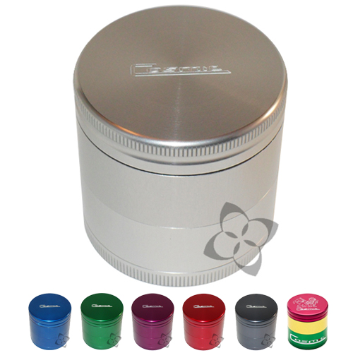 Cosmic Case Grinder - Small Triple Chamber grinder, shredder, herbs