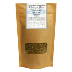 Vaporbrothers Organic Herbal Blend - Balancing Bleus 2oz herbal blend, vaporizer blend, organic herbal blend