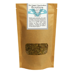Vaporbrothers Organic Herbal Blend - Revitalizing 2oz herbal blend, vaporizer blend, organic herbal blend