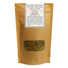 Vaporbrothers Organic Herbal Blend - Sweetly Calming 2oz herbal blend, vaporizer blend, organic herbal blend