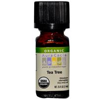 Organic Essential Oil - Aura Cacia - Tea Tree - 0.25 fl. oz. tea tree essential oil
