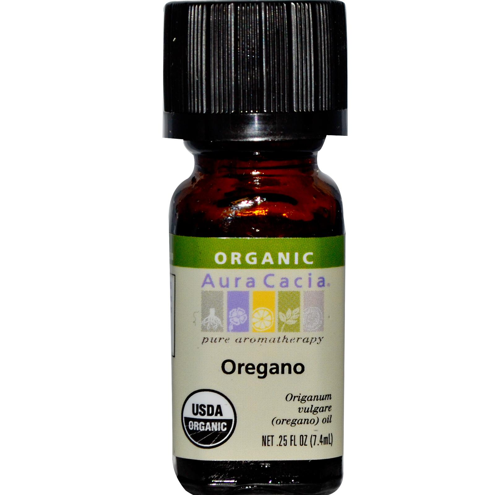 Organic Essential Oil - Aura Cacia - Oregano - 0.25 fl. oz.