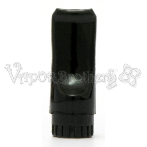 Vapor Pen Mouthpiece, Black Plastic