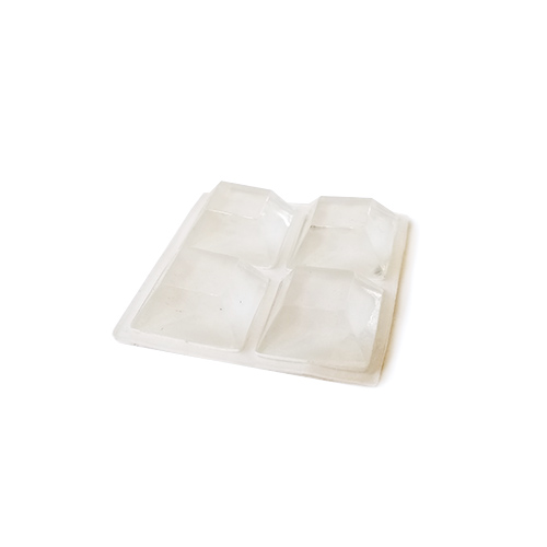 Replacement feet for Vapor Boxes (4 Pack of Clear Bumpers)