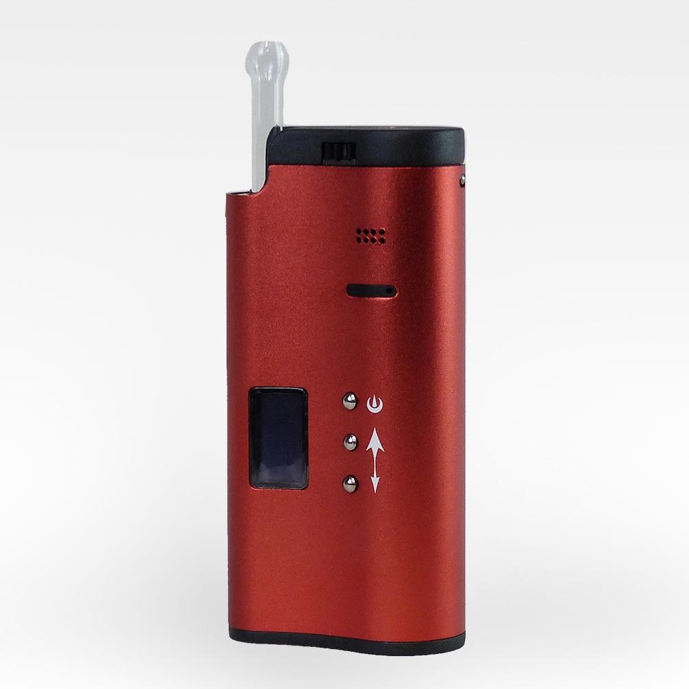 SSV SideKick V2 Portable Vaporizer for Loose Leaf Herbs and Oils - 9412-SKPVV2-Red