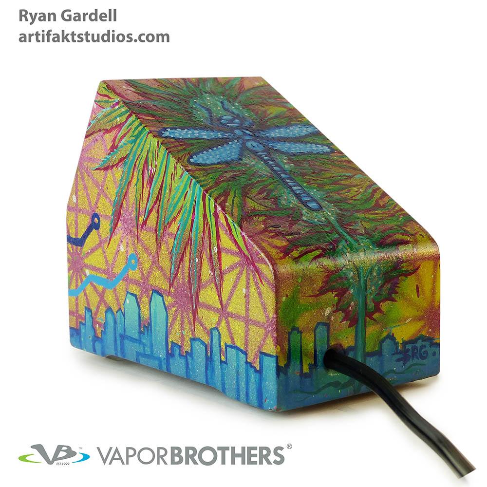 [SOLD] RYAN GARDELL Art Vaporbrothers Vaporizer - Hands Free - 120V - 8040-RYANGARDELL-ART