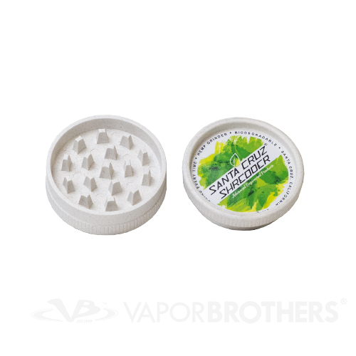 Santa Cruz Shredder Hemp Grinder Medium 2 Inch 2 Pc Eco