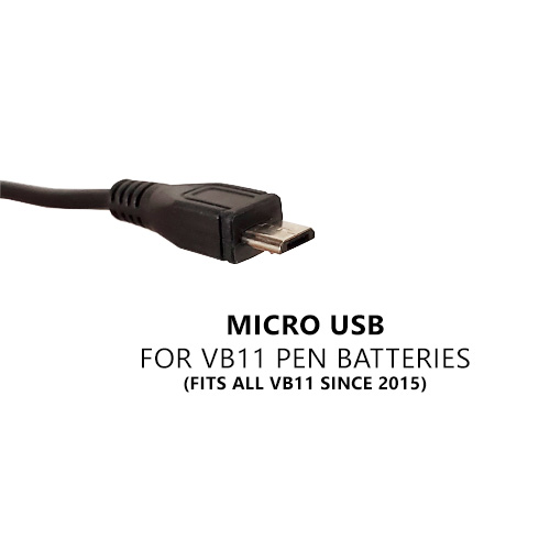 Micro USB Cable, for Current Model VB Eleven Pens (For VB11)