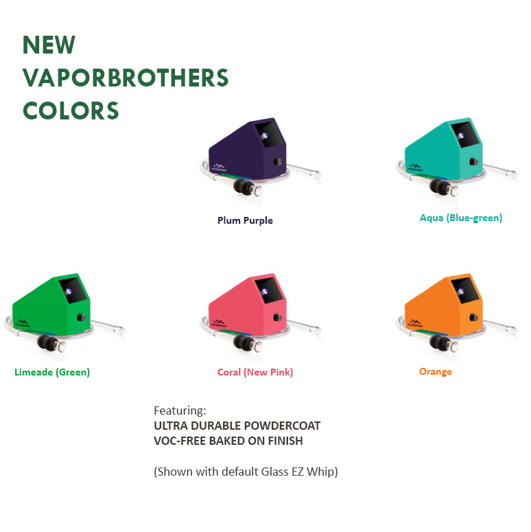 Vaporbrothers VB1 Vaporizer - Hands Free - New Color Series - 120V